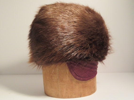 VINTAGE FUR HAT, Men's Hat, Men's fashion, Winter