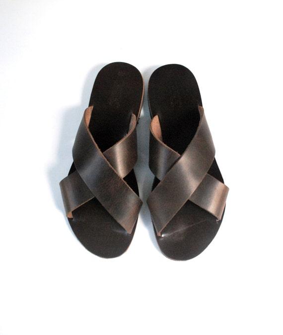 Herren Sandalen, Männer griechische Sandalen, Freizeitschuhe, Komfort Schuhe, Herren Schuhe, Leder Geschenk für ihn