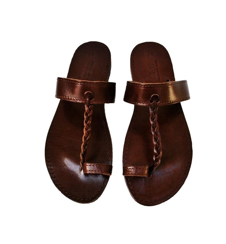 66ab9d5c155c8f Leather boho sandals women bohemian sandals shoes for women
