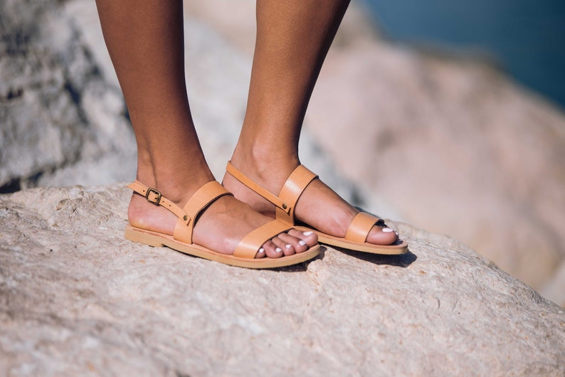 Women Traditional Sandals Ancient Greek StrappyEtsy Classic CexWrodB