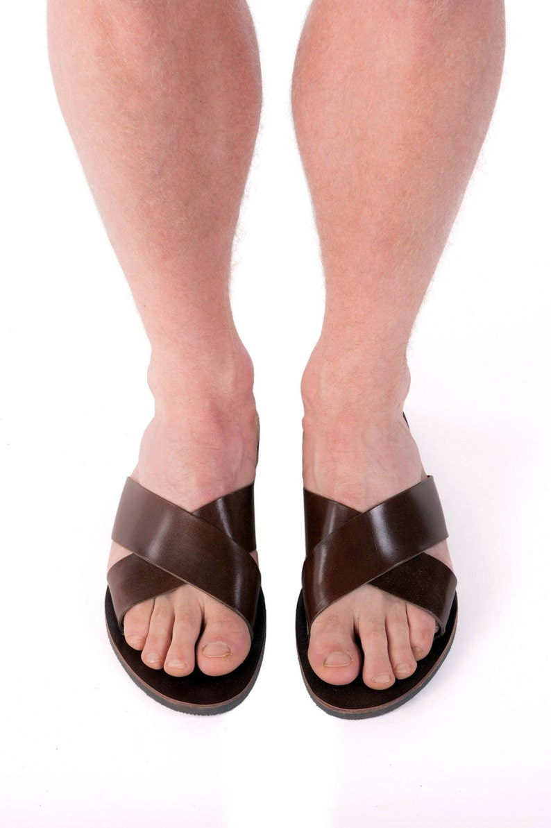 La Marrón Sandalias TiendaComprar Cuero Comodidad HombreDe NovioCorreas Casuales ZapatosRegalo Oscuro Para F1cJ3TlK