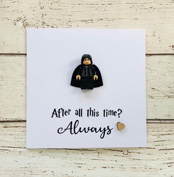 Personnalisé Carte d/'anniversaire anniversaire Harry Potter Rogue toujours