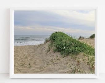 Martha's Vineyard Beach Photograph Cape Cod and Islands Photography Massachusetts MVY Photos Coastal Design Sand Dunes Ocean Seascape Print
