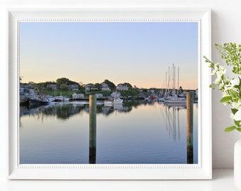 Menemsha Harbor Photography Chilmark Marthas Vineyard MVY Print Cape Cod and Islands Photograph Coastal New England Nautical
