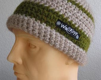 Rolled edge cap Men