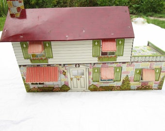 Metal Doll House Etsy