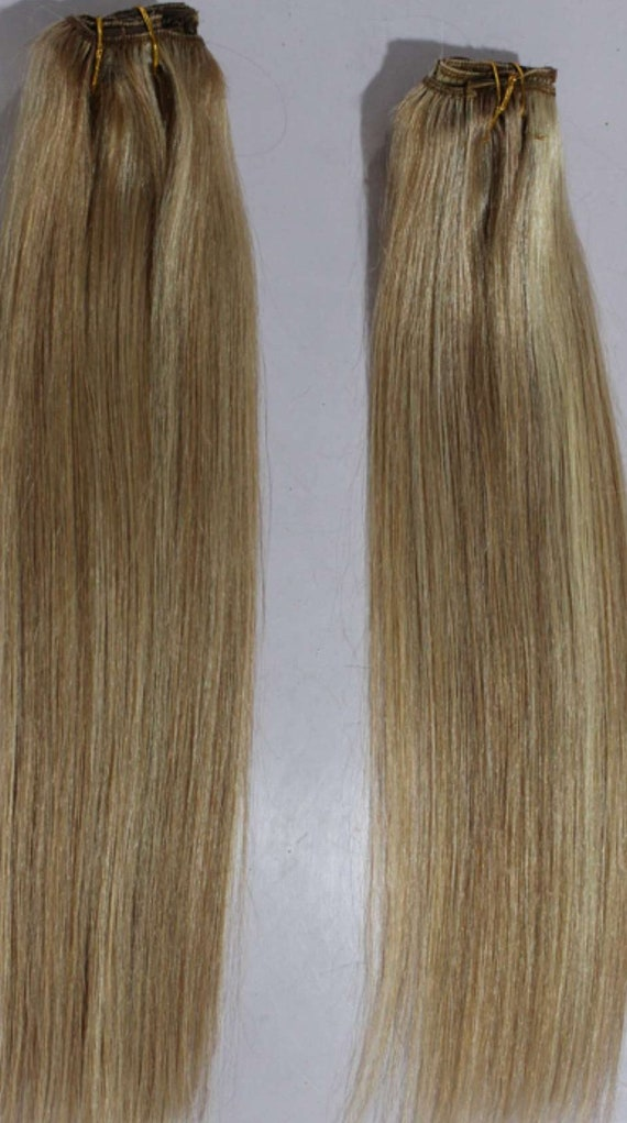 20 Weft Hair 100grsweft Weaving Without Clips100 Etsy