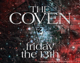 The Coven - Friday The 13th DIY Poster Template