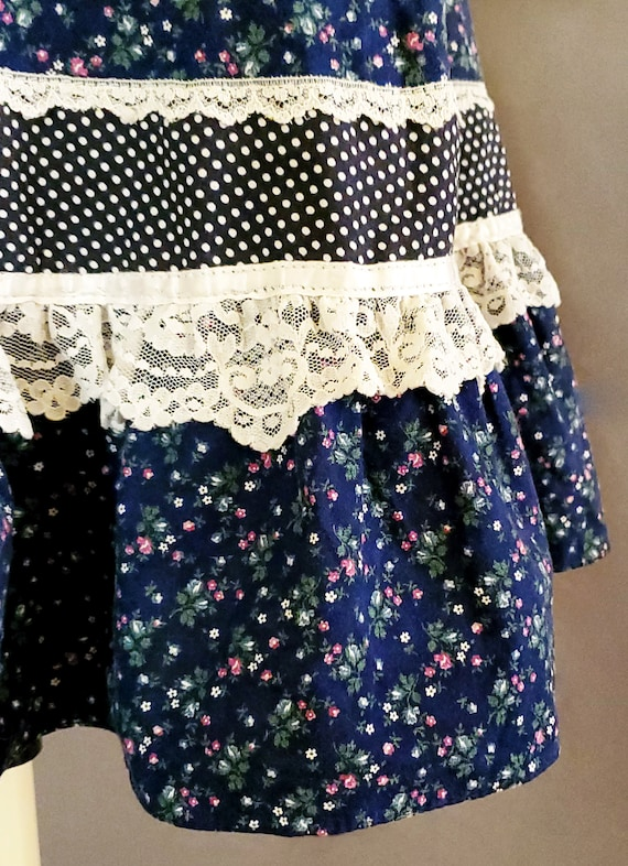 1970s Gunne Sax Skirt XS Extra Small 70s Size 2 G… - image 8