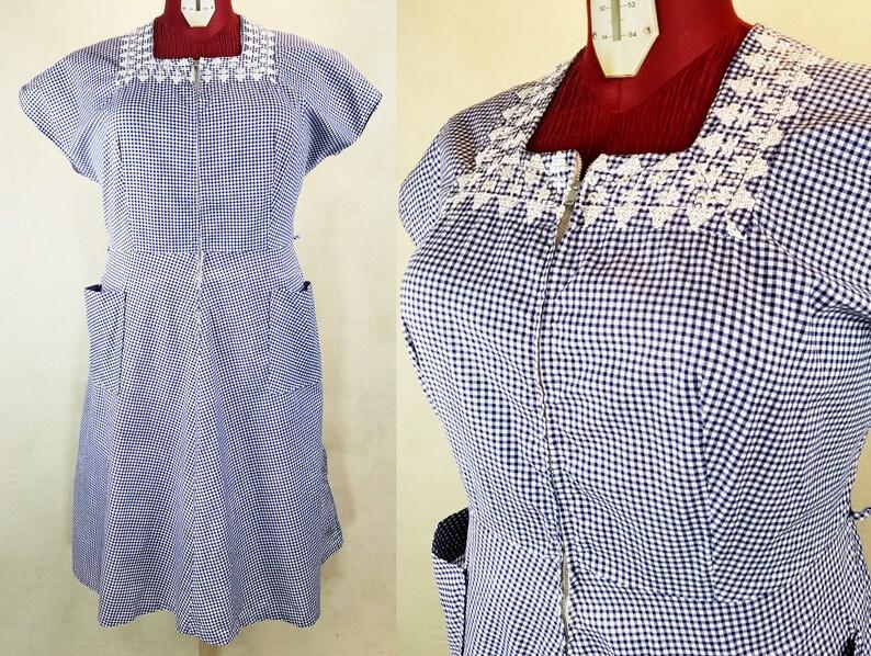 1940s Dress W 40\