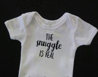 Baby Bodysuits Tshirts Baby Gifts Baby Snuggle Baby Shirt Newborn Clothing Baby Shower Gift Gender Neutral Baby Clothes
