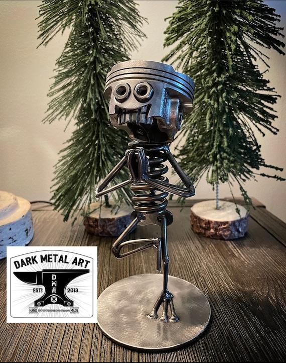 YOGA Metal Art Sculpture