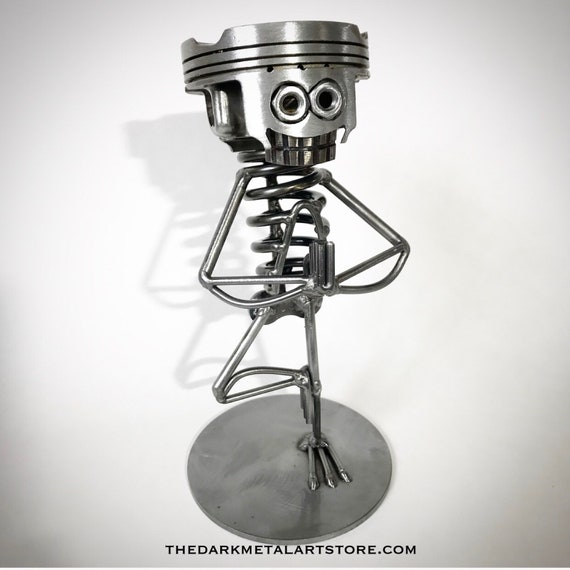 YOGA Metal Art Sculpture