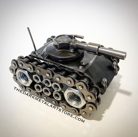 Metal Art Battle Tank