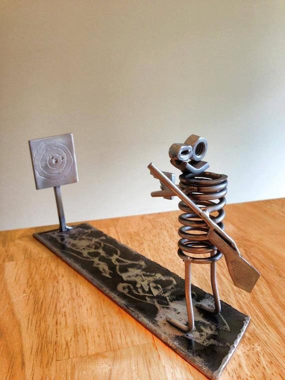 Metal Art Target Practice Boogie