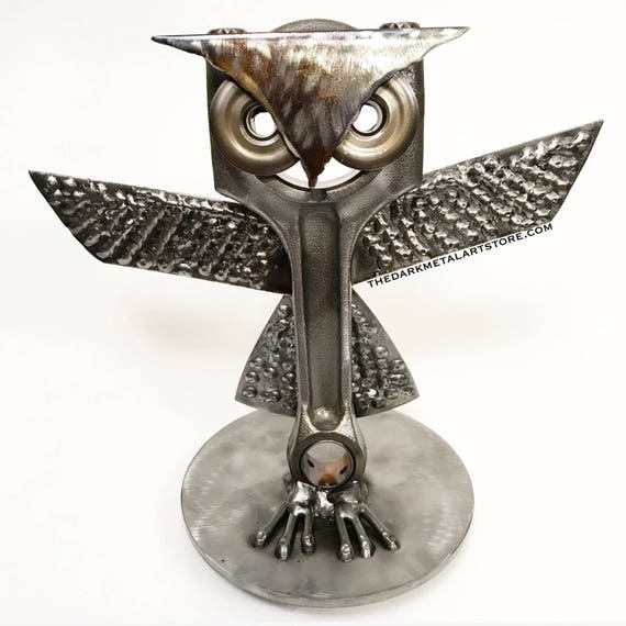 Hoot Metal Art Owl