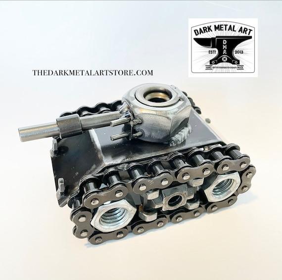 Metal Art Battle Tank