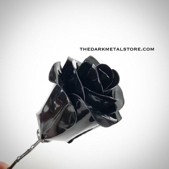 Black Eternity Rose (single Rose)