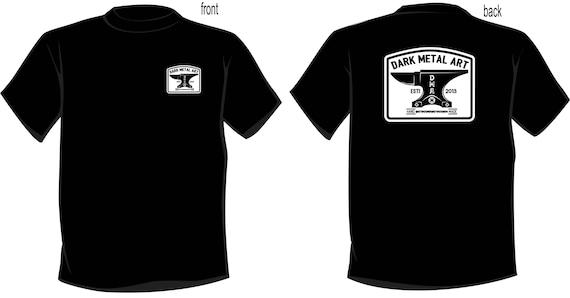 DARK METAL ART tri-blend t-shirt