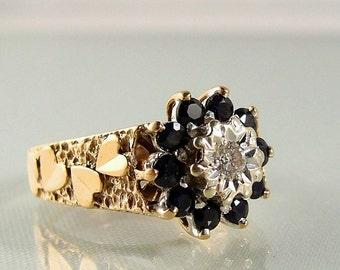 Art Nouveau/Deco rings