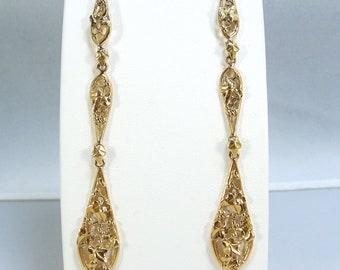 fine gold Earrings