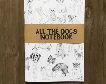The All The Dogs Notebook