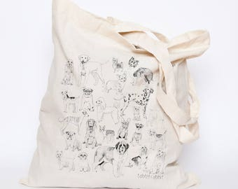 All The Dogs Tote