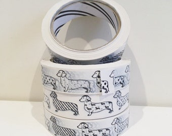 Slight Seconds Dachshund Sticky Tape