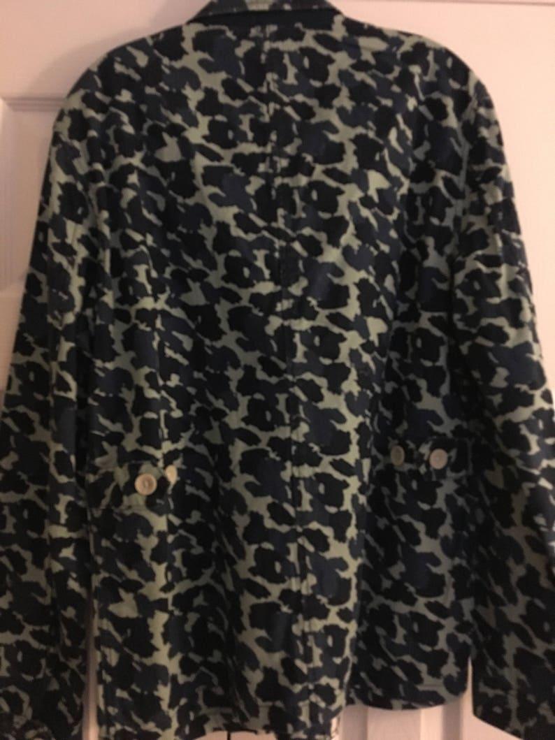 eb423911cb706 Mens camouflage sports coat size medium blue   Etsy