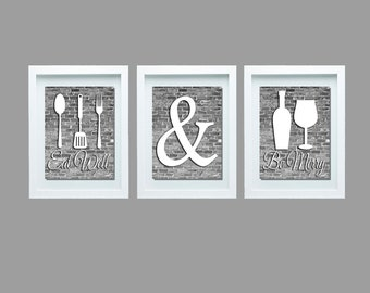 Fabulous Kitchen Wall Decor Etsy Download Free Architecture Designs Boapuretrmadebymaigaardcom