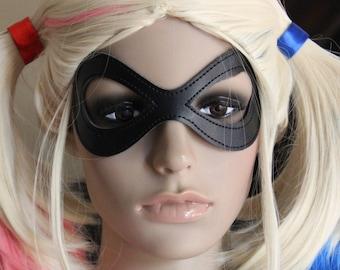 READY TO SHIP Black Mask, Comic Costume, Cosplay, Super hero costume, Pretend, Masquerade, Ball, Disguise, Villian, Bat