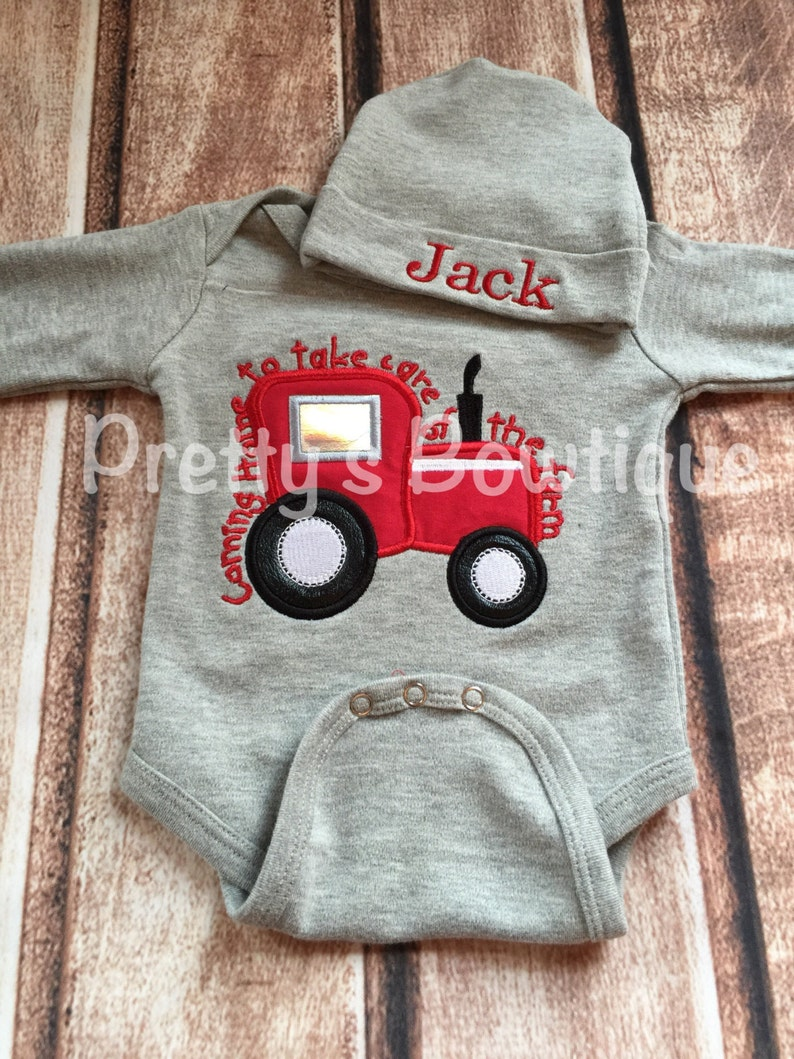 3d1e1d717 Baby Boy Coming Home Outfit Coming home to take care of the | Etsy