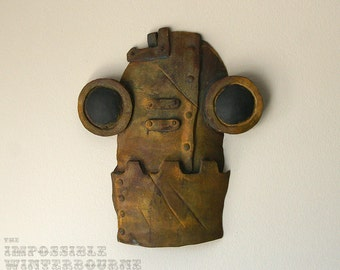 SteamBot Face - Rusted finish