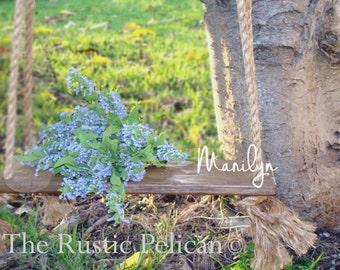 Rustic Swing - Tree Swing - Swing - Wood Swing - Farmhouse Swing - Barnwood style - Children -Kids - Girls -Boys -Rustic -Children's Swing