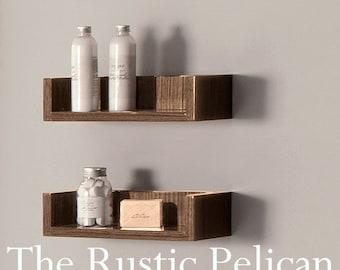 Rustic Shelf - Reclaimed Wood - Cedar Shelf -Farmhouse Decor- Bathroom Shelves - Bathroom Decor - Rustic Home Decor - Bath - Rustic Home