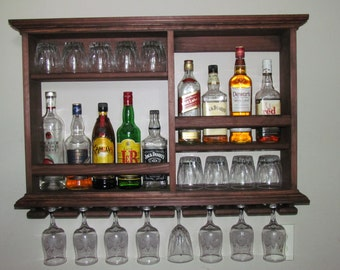 Mini Bar Cabinet Etsy