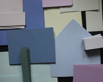 Studio Sale - Mixed lot Pastel Colored Craft pack