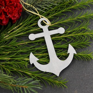 Pirate Ship Boat Personalized Christmas Tree Ornament