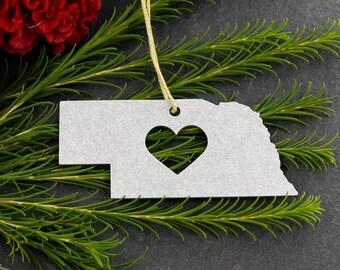 Nebraska ornament   Etsy