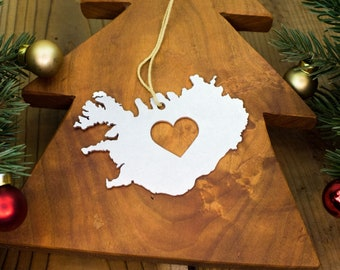 Iceland Ornament Etsy