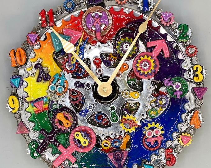 LGBTPride clock