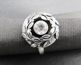 Wreath Memorial Ring