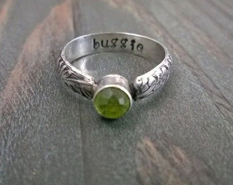 Custom Pet Ash Memorial Ring