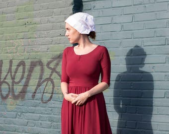 Handmaids Tale Inspired Costume - Sent SAME DAY from NYC - Handmaid's Tale Dress - doesn't include cape or bonnet