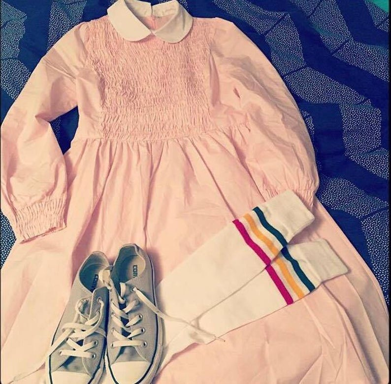 Eleven Dress Inspired by Stranger Things Eleven Dress Stranger image 0