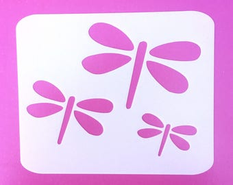 Dragonfly Stencil Etsy