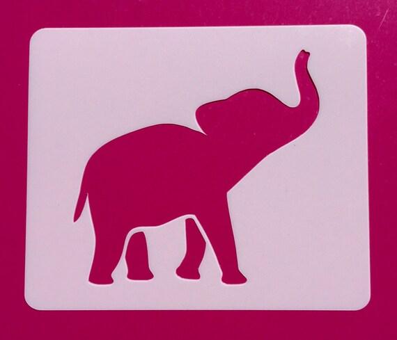 Elephant Template | Baby Elephant Stencil Etsy