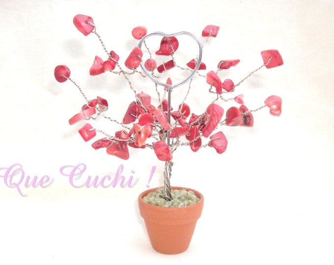 Featured listing image: Red Gorgon  photo holder tree of life .