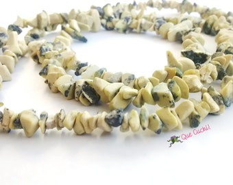 Long Necklace of African turquoise
