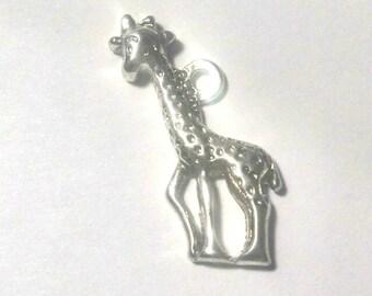 Breloques girafe de 2,2 x 1 cm pour fabriquer des bijoux